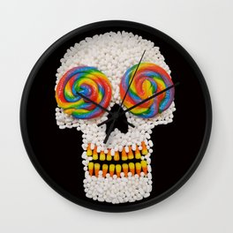 Skullipop Wall Clock