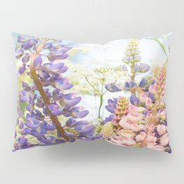 Wild Flowers on Summer Meadow Bouquet #decor #society6 #buyart Pillow Sham