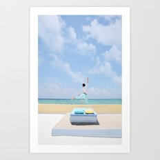 Jump for Joy Art Print