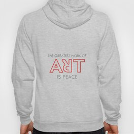 Art is Peace Hoody