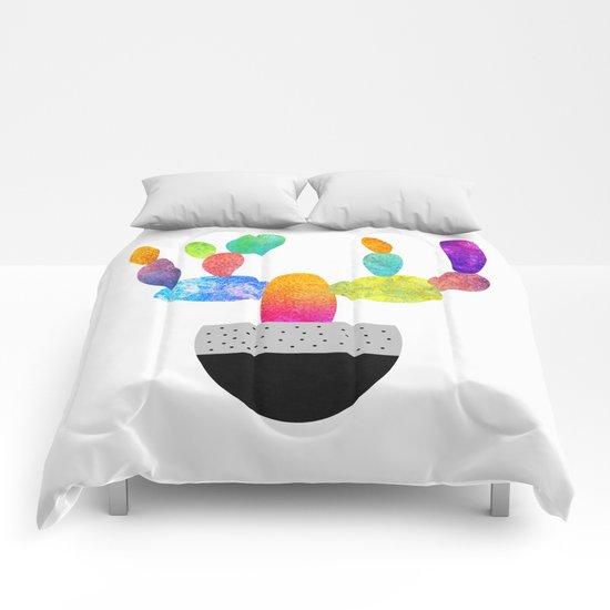 Cactus Fun (color option) Comforters