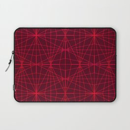 ELEGANT DARK RED GRAPHIC DESIGN Laptop Sleeve
