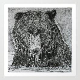 water bear Art Print