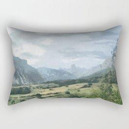 Pico de Europas, Asturia Spain Rectangular Pillow