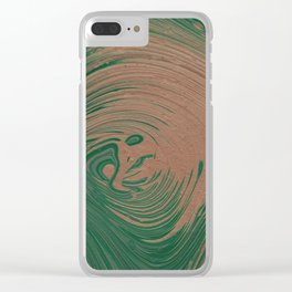 Forest Ring Clear iPhone Case
