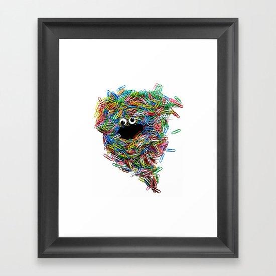 Clip Art: Behemoth! Framed Art Print