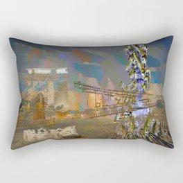 landscape collage #21 Rectangular Pillow