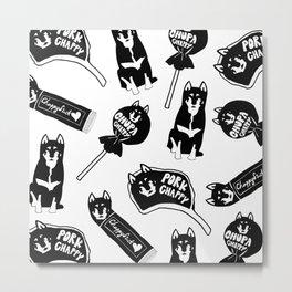 Chappy the Shiba Dog© Assorted Metal Print