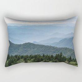 Smoky Mountain National Park -  Summer Adventure Rectangular Pillow