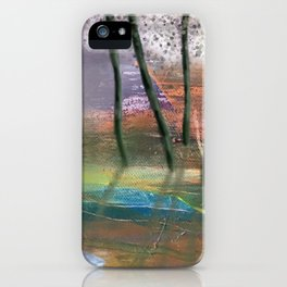 Afternoon by the Silent Pond iPhone Case