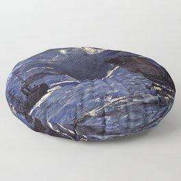 Claude Monet - A Seascape, Shipping By Moonlight Floor Pillow