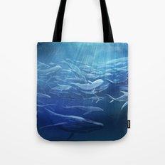Immigration Sea Creature Tote Bag