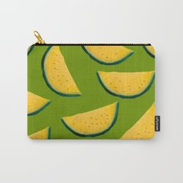 Yellow Watermelon Carry-All Pouch