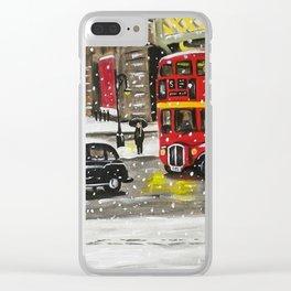 By Waterloo Bridge Clear iPhone Case