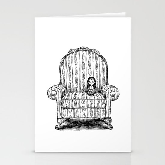 Big Chair Stationery Cards