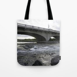 10th St Wave Tote Bag