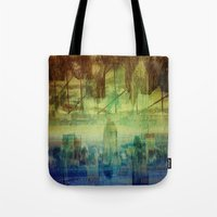 montreal Tote Bags featuring Montreal city by Jean-François Dupuis