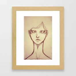 Alienated Framed Art Print