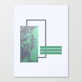 Violet Foliage #society6 #spring Canvas Print