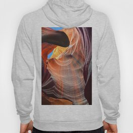 Geology Alive - Time Passage of Upper Antelope Canyon Hoody