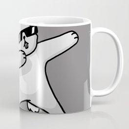 Dabbing Easter Bunny Coffee Mug