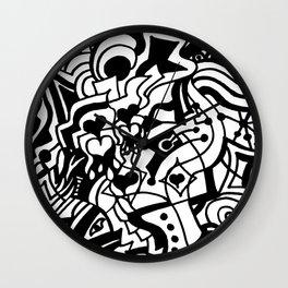 Space Eagle Wall Clock