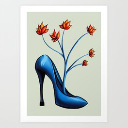 c5075dd3769 Heel Art Prints | Society6