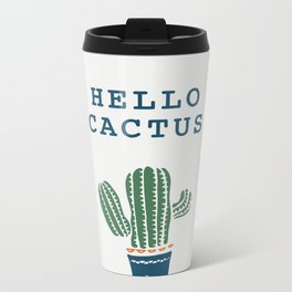 cactus 2 Metal Travel Mug