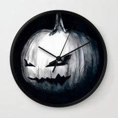 Keeping Up With Halloween Wall Clock