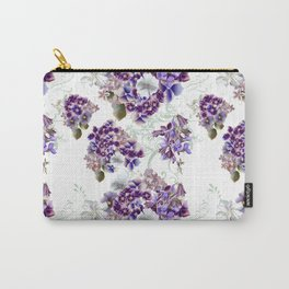 French pattern in vintage Provance style with lilac Carry-All Pouch
