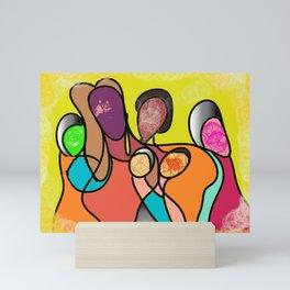 The family Mini Art Print