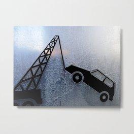 Urban Abstract 99 Metal Print