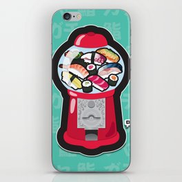 Gumball Sushi   ガチャ ガチャ 鮨 iPhone Skin
