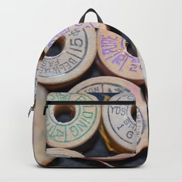 Wooden Spools Backpack