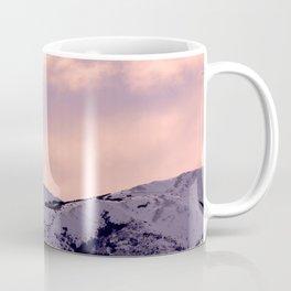 Kenai Mts Bathed in Serenity Rose Coffee Mug
