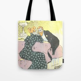 "Théophile Steinlen ""Sheet music Déclaration by Georges Herbert and Alfred Bert"" Tote Bag"