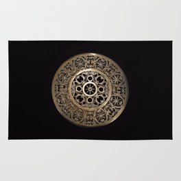 ancient metal object Rug