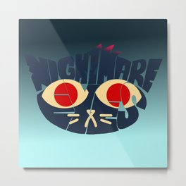 Mae - Nightmare eyes Metal Print