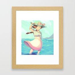 Seagirl Framed Art Print