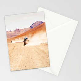 Road Racing Desert (Color) Stationery Cards