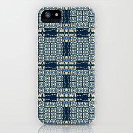 Deep Wata - Gingham iPhone Case