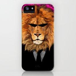 Lion Suit iPhone Case