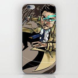 Castiel iPhone Skin