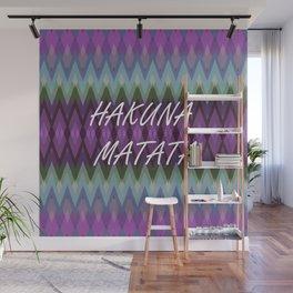Hakuna Matata Purple Wall Mural