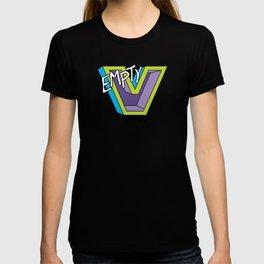 Empty V (purple) T-shirt
