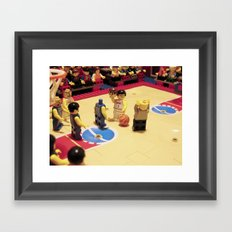 Oh my lego ! Don't do that ! Framed Art Print