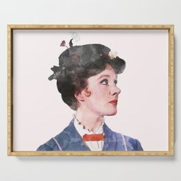 Mary Poppins - Watercolor Serving Tray