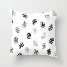 Day 035   #margotsdailypattern Throw Pillow