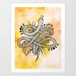 Snake Medicine Art Print