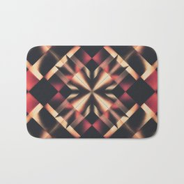 Dramatic Prism Bath Mat